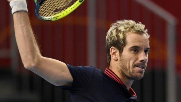 Tennis: Gasquet prend le quart à Tokyo