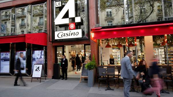 Casino gambles on Amazon-style checkout free Champs Elysees store