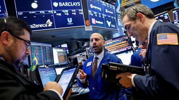 وول ستريت تنخفض عند الفتح مع ارتفاع عوائد السندات