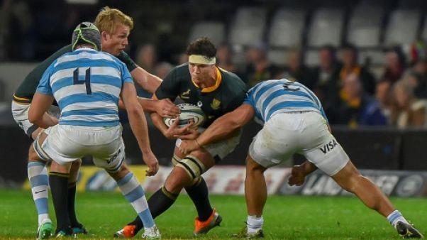 Rugby Championship: le Sud-Africain François Louw rappelé contre les All Blacks