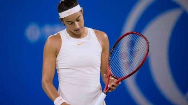 La Française Caroline Garcia au tournoi WTA de Wuhan, le 25 septembre 2018