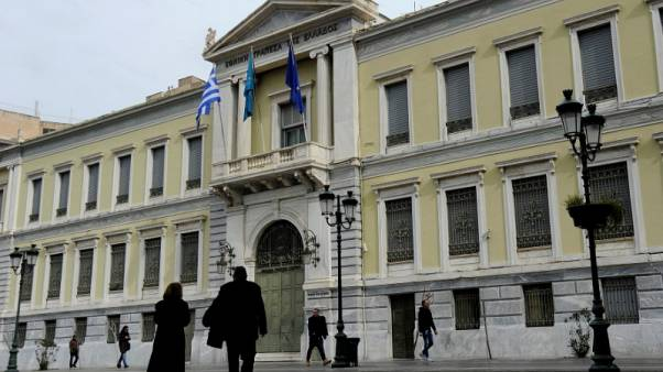 Greece working on bank bad-loan asset protection scheme - bankers