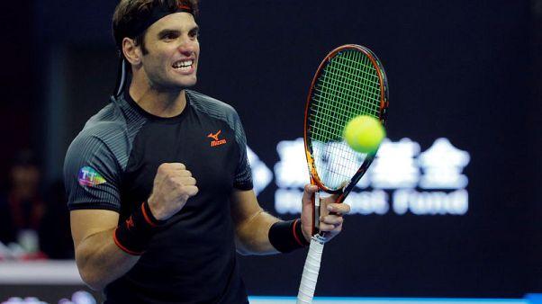 Tennis - Zverev stunned by unseeded Jaziri in Beijing