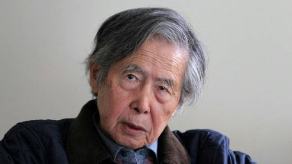 """Pérou: me renvoyer en prison serait une """"condamnation à mort"""", assure l'ex-président Fujimori"""