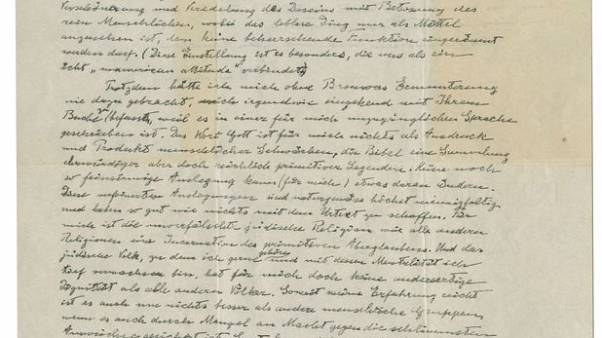 Einstein's 'God Letter' may fetch up to $1.5 million at New York auction