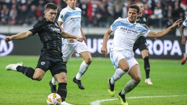 E.League:Eintracht Francoforte-Lazio 4-1
