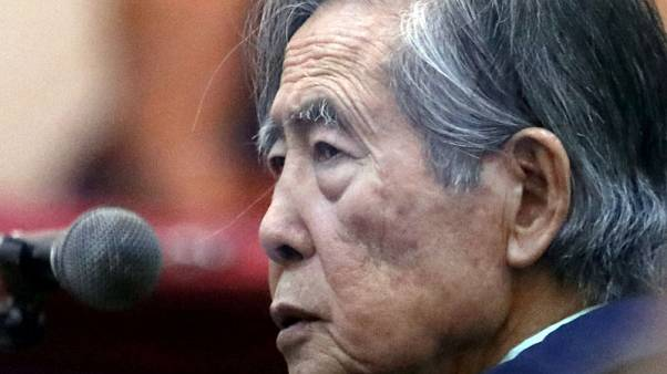 Peruvian ex-leader Alberto Fujimori warns prison return will kill him