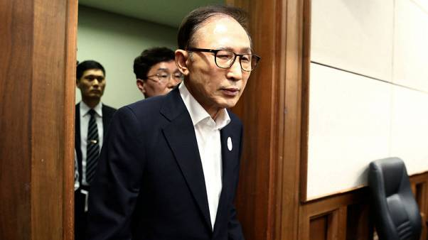 South Korea jails former president Lee for 15 years on bribery, other charges