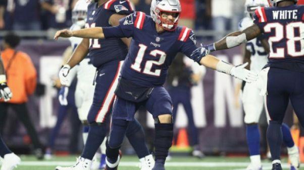 NFL: 500e passe de touchdown pour Tom Brady