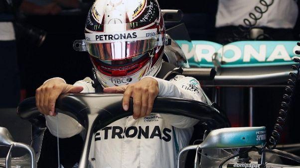 F1: Giappone, Hamilton domina le libere