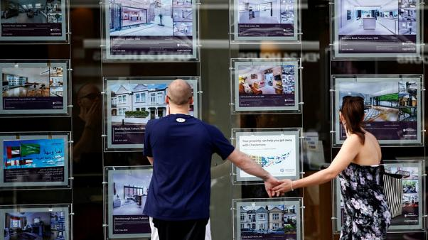 UK house prices record biggest fall since April - Halifax