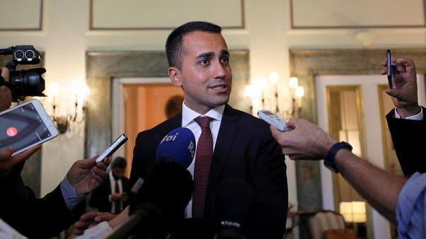 Italy's Di Maio says he will back Italian people over markets