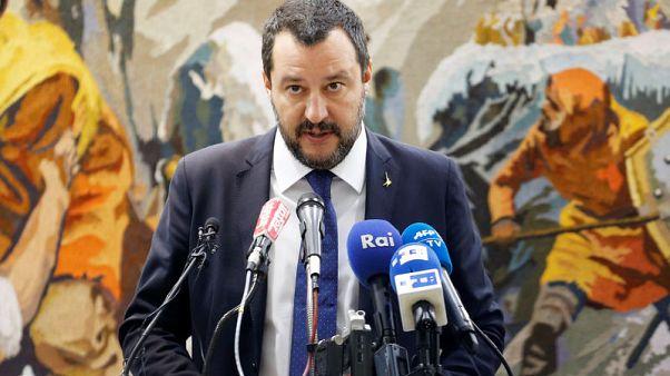 Italy's Salvini attacks Juncker, hopes for change in 2019