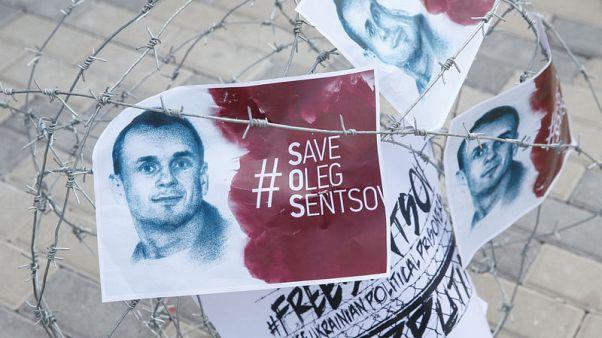 Ukrainian filmmaker imprisoned in Russia ends hunger strike - agencies