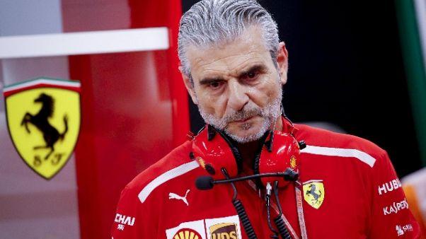 "F1, Arrivabene ""Ferrari è regolare"""