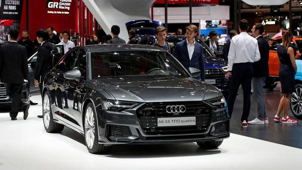 Audi warns of sales fluctuation after 56 percent fall in Europe