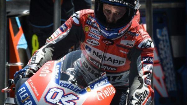 MotoGP: Dovizioso (Ducati) le plus rapide aux essais du GP de Thaïlande