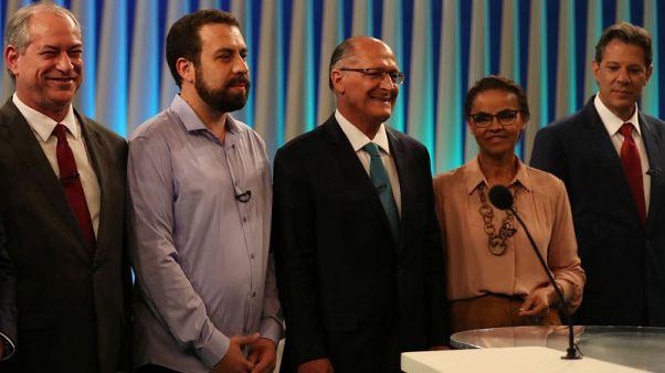 Brazil front-runner Bolsonaro misses last presidential debate