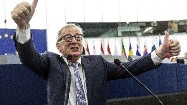 Junker,Salvini?Spero non finisca macerie