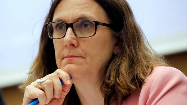 Tariff deal with U.S. not yet even in 'pre-work' stage - EU trade chief