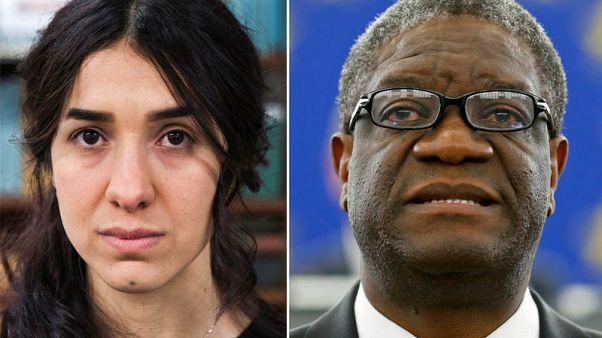 حقائق-ردود فعل على منح جائزة نوبل للسلام لاثنين من مناهضي العنف الجنسي