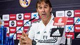 Lopetegui: Obiettivi Madrid non cambiano