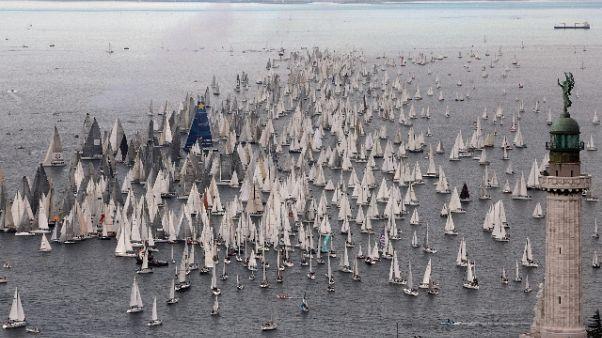 Barcolana 50:Trieste capitale della vela