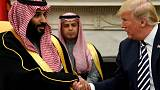 Saudi crown prince says 'I love working with' Trump - Bloomberg interview