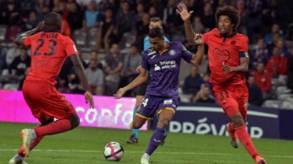 Ligue 1: Toulouse déçoit à domicile face à Nice