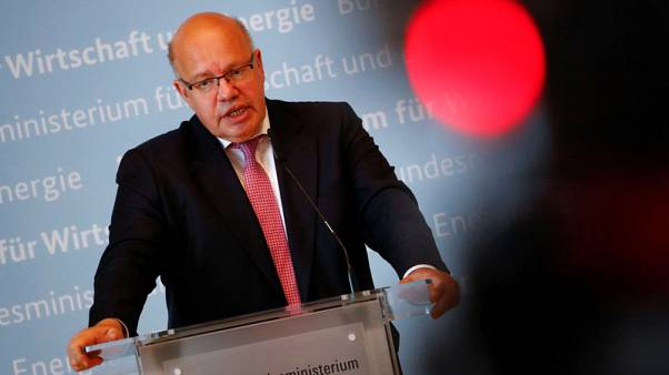German economy minister says he is willing to discuss equal auto tariffs with U.S.