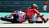 MotoGp: niente pole e Gp per Lorenzo