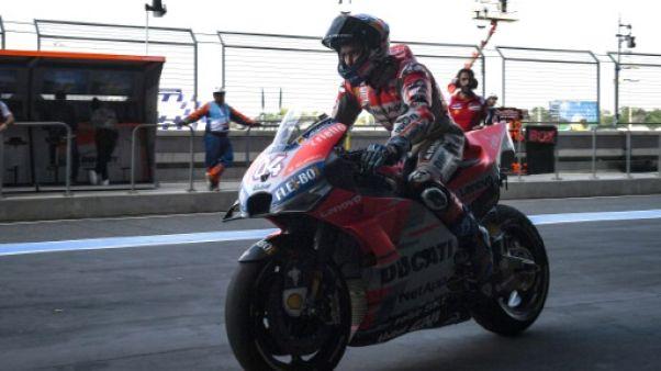 MotoGP: Dovizioso en pointe, Marquez en repêchage pour le GP de Thaïlande