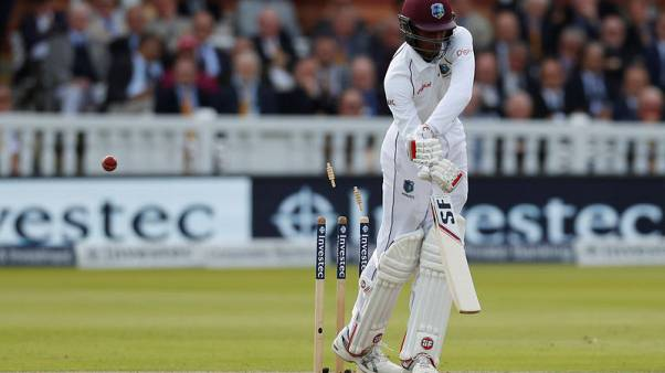 Cricket - West Indies all out for 181, India enforce follow-on