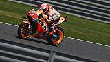 MotoGP: Marquez (Honda) en pole devant Rossi (Yamaha) au GP de Thaîlande