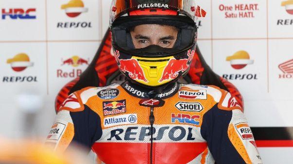 """Motogp, Marquez """"mi sento forte"""""""