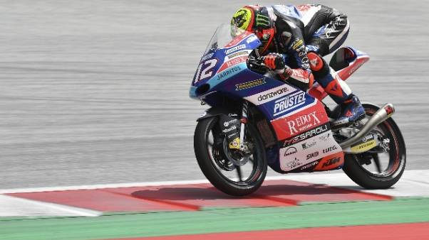 Moto3, Thailandia, pole a Bezzecchi