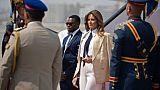 Melania Trump en Egypte: les pyramides au programme