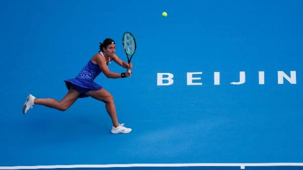 Tennis: la Sevastova in finale a Pechino