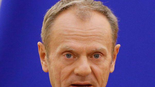 رئيس المجلس الأوروبي: يمكن التوصل لاتفاق خروج بريطانيا نهاية العام