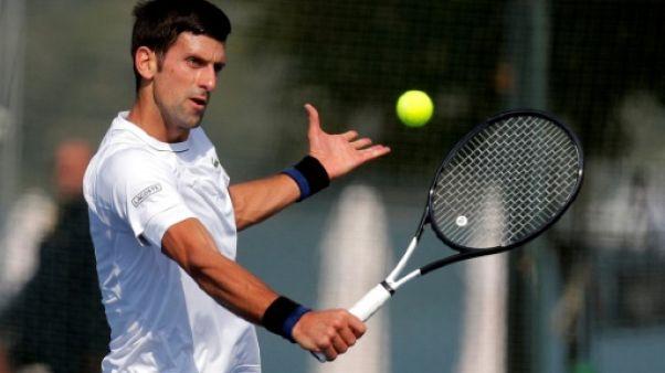Tennis: Djokovic lance sa reconquête du trône à Shanghaï