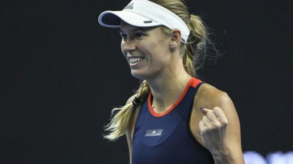 Tennis: Wozniacki rejoint Sevastova en finale à Pékin