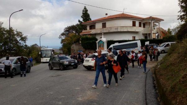 Migliaia a Riace per solidarietà Lucano