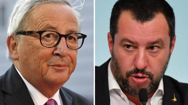 Salvini a Juncker, sua Ue via tra 6 mesi