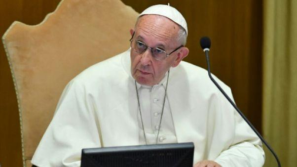 Le pape François le 3 octobre 2018 au Vatican