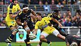 Top 14: La Rochelle freine Clermont sous la pluie