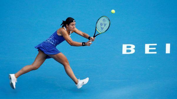 Tennis - Sevastova to face Wozniacki in Beijing title clash