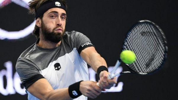 Tennis: Basilashvili rejoint Del Potro en finale à Pékin