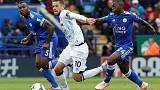 Sigurdsson's dazzling 50th goal sinks 10-man Leicester