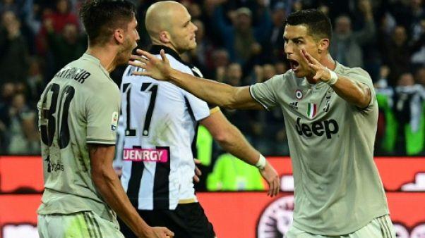 Italie: la Juventus enchaîne, Ronaldo marque encore