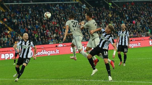 Serie A: Udinese-Juventus 0-2